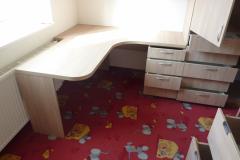 Dětský pokoj v RD - dub