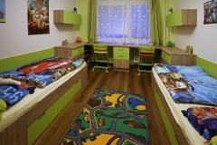 Dětský pokoj_Kombinace zelené s dubem bardolíno