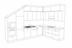02_Atypický rozměr kuchyňské linky