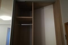 Skříně v ložnici